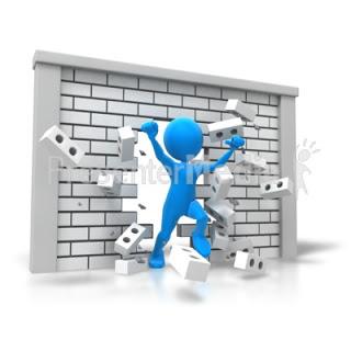 σπάσιμο του τοίχου