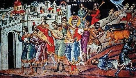 τοιχογραφία Θεοφάνη
