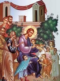 Ιησούς Χριστός με παιδιά