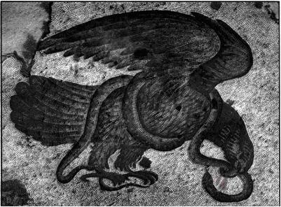 μάχη αετού και φιδιού