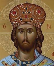 Χριστός με στέμμα