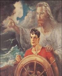 Χριστός στο τιμόνι