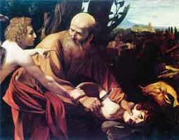 καραβάτζιο θυσία του Αβραάμ