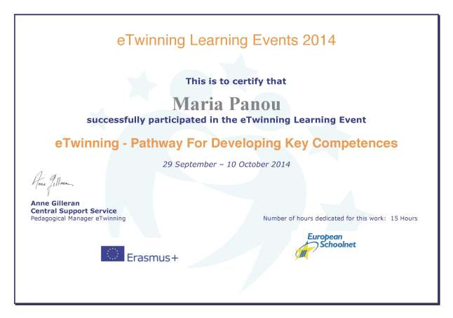 Certs_Página_069eTwinning Learning event ETWINNING- PATHWAY FOR DEVELOPING KEY COMPETENCIES