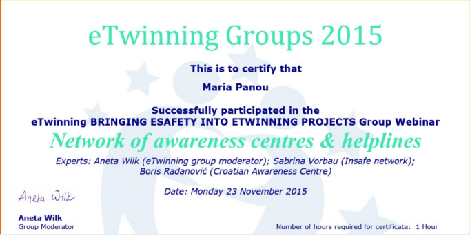certificate_of_network_of_awareness_centres_and_helplines_ewinning_group